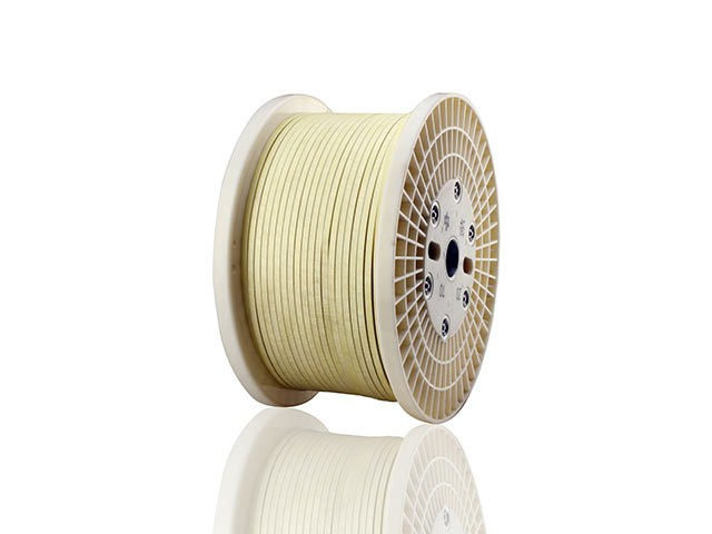 Fiber Glass Covered Aluminum Wires